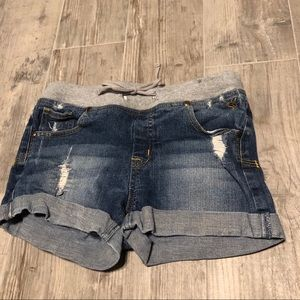 Justice girl's Jean shorts